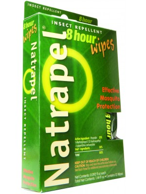 Natrapel® 8-hour Wipes 12/box